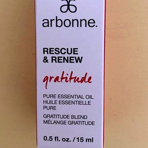 "Arbonne Rescue & Renew Oil ""Gratitude"" - NIB 💖"